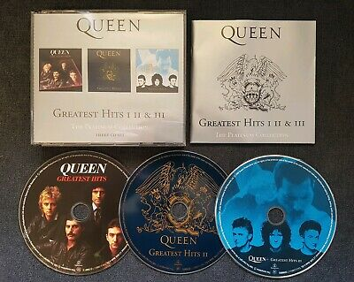 Queen The Platinum Collection Triple Cd - Greatest Hits I Ii & Iii 1 2 3