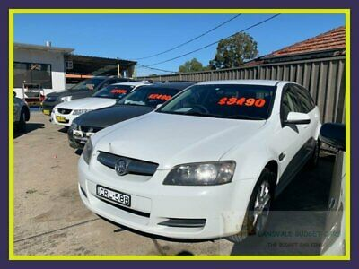 2009 Holden Commodore VE Omega White Automatic A Wagon