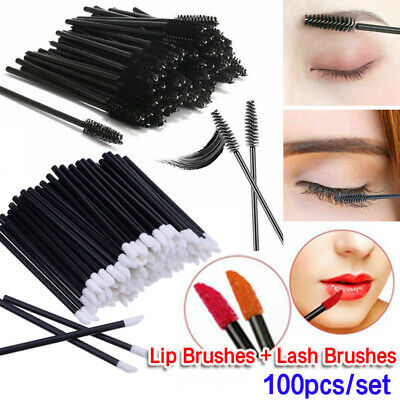Disposable Lip Brush Lip Wands Gloss Lipstick Applicator Brushes