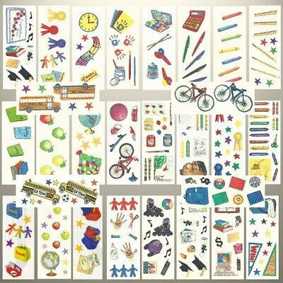 Creative Memories SCHOOL, GRADUATION THEME STUDIO STICKERS - VARIETY TO CHOOSE