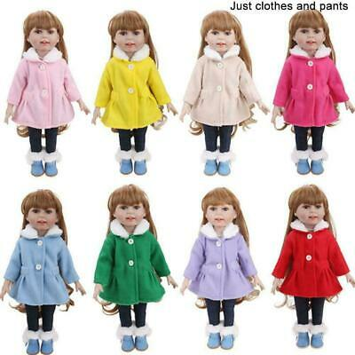 UK Doll Clothes Dress Outfits Pajames For 18 inch Girl Our Generation Baby R1U7
