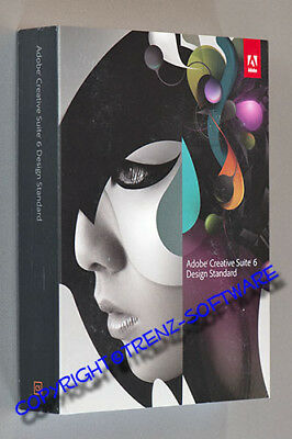 Adobe Creative Suite 6 Design Standard deutsch Windows Vollversion - MwSt CS6