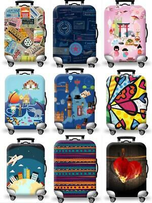 """18-32"""" Elastic Scratch Protective Luggage Cover Suitcase Travel Dust Bag Guard"""