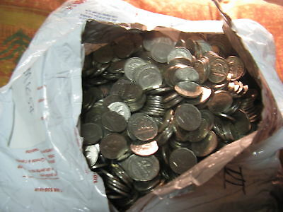 40 Random 5 Cent King George Vi(1937-52) Coins Canada From The Lot Like Shown