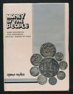 """C18th & C19th Tokens of India, """"Money of the People"""", 1989 R. Niyogi, 91 Pgs"""