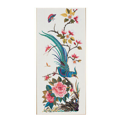 ANCHOR   Embroidery Kit: Kwang Tung Oriental Bird and Flowers   PE701