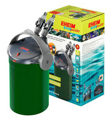 @ Eheim Eccopro 200 External Canister Filter For Tanks up to 200L Aquarium Fish
