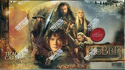 The Hobbit The Desolation Of Smaug Factory Sealed Trading Card Hobby Box