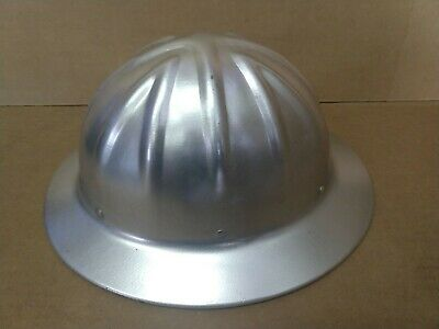Vintage WILLSON Aluminum HARDHAT (made In USA)