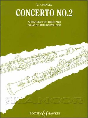 G F Handel Concerto No 2 for Oboe & Piano Music Book Classical SAME DAY DISPATCH