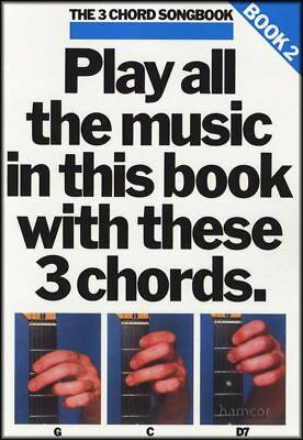 The 3 Chord Songbook Book 2 Guitar Music Song Book