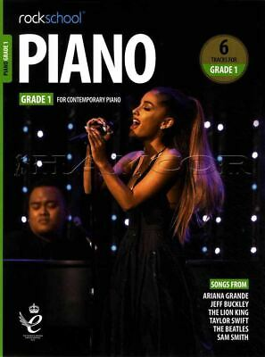 Rockschool Piano Grade 1 from 2019 Music Book/Audio Exam Test SAME DAY DISPATCH