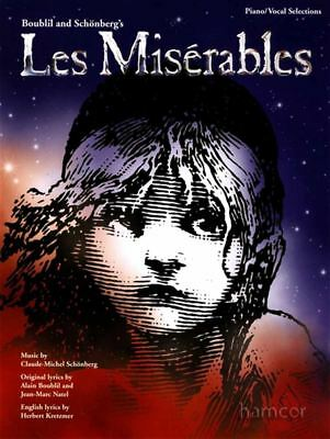 Les Miserables Piano Vocal Selections Updated Sheet Music Book inc Guitar Chords