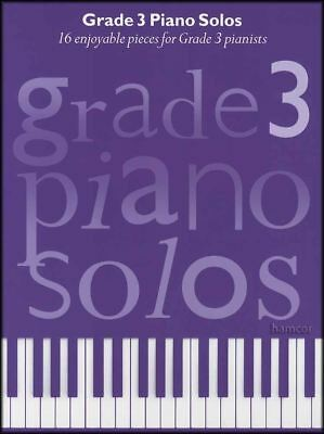 Grade 3 Piano Solos Sheet Music Book