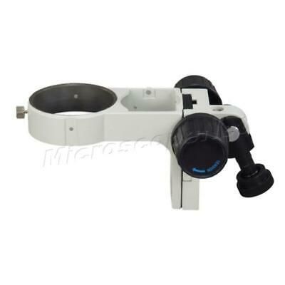 Stereo Microscope Body Mount Focusing Rack 76mm Opening Ring with Pin-tail