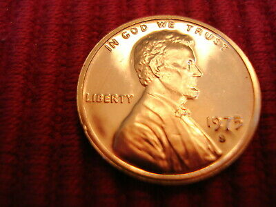 1975 S Lincoln Gem Proof Memorial Penny