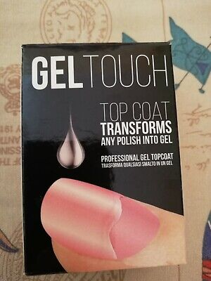 Gel touch top coat transforms any polish into gel