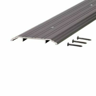 "M-D Building Products 68346  36"" x 1/2"" x 5"" Fluted Saddle Threshold (Bronze) -"