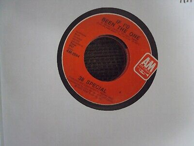 "38 SPECIAL If I'd Been The One/20th Century Fox 7"" 45 early-80's southern-rock"
