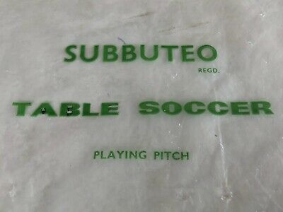 Subbuteo Table Soccer Vintage Pitch In Original Packaging
