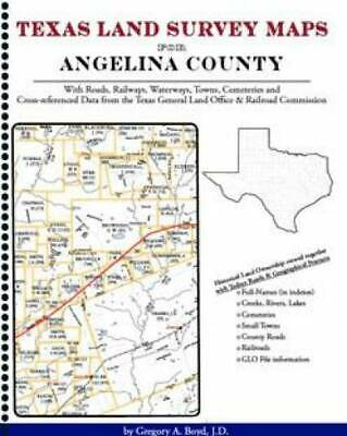 Texas Land Survey Maps for Angelina County
