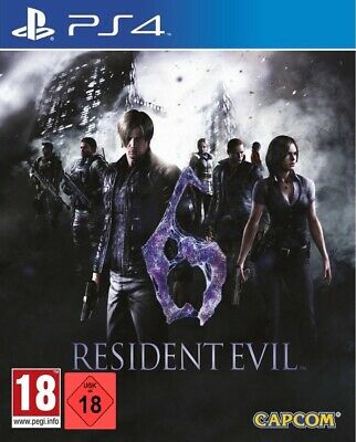 PS4 Gioco Resident Evil 6 HD Merce Nuova
