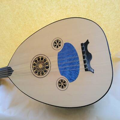 Turkish lute Oud Musical instrument Quality wood Formatted with microphone slot