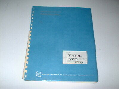 Tektronix Type 575 / 175 Curve Tracer  Instruction Manual  BOX#91