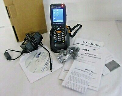 Mobile Data Capture Inventory Bar Scanner with Charger Datalogic Memor Wireless