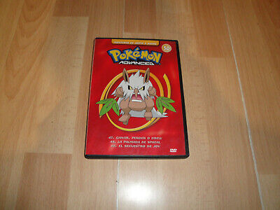 Pokemon Advanced Aventuras De Johto A Hoenn Numero 50 Serie En Dvd Buen Estado