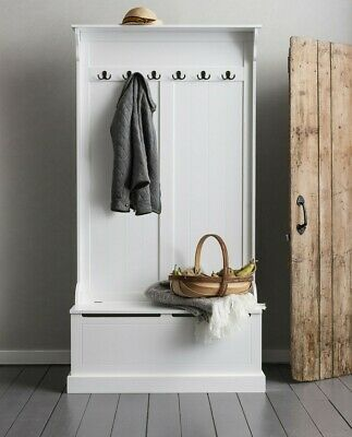 Hallway Bench and Coat Hook Shoe Storage Brittany