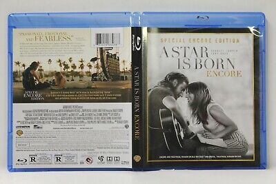 A Star Is Born: Encore (Blu-Ray/DVD,2-Disc) FREE Ship Cooper Gaga No Digital