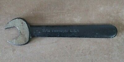 """FAIRMONT CLEVELAND 11/16"""" Single Open End Wrench NOS Condition Never Used"""