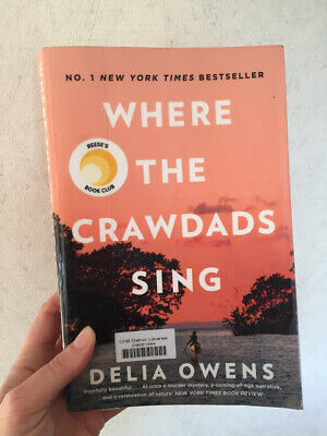 Where The Crawdads Sing by Delia Owens 2018  instant delivery
