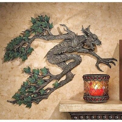 Greenman Middle Earth Leafy Tree Spirit Sculpture Mythical Creature