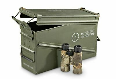 Military Surplus 40mm PA-120 Large Ammo Can Box 100% Steel Excellent