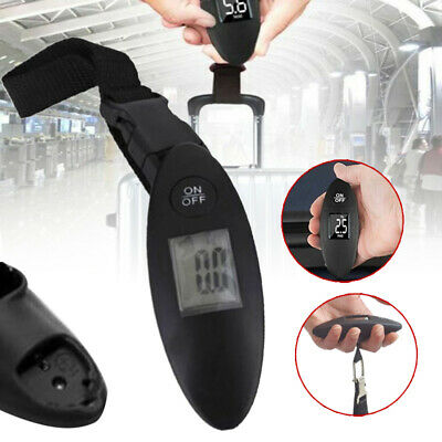 90lb Portable Travel Accuracy Electronic Digital Hang Scale For Suitcase Luggage