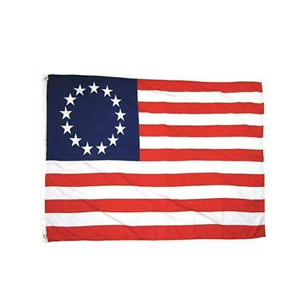 3x5 FT POLYESTER US AMERICAN BETSY ROSS 13 STAR USA HISTORIC FLAG 4th of D92 01