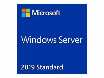 NEW! Microsoft OEM P73-07788 Microsoft Windows Server 2019 Standard Licence 16 C