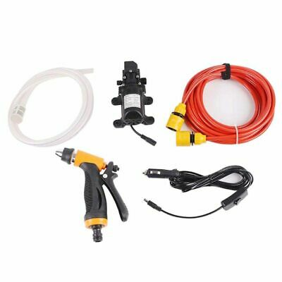 Portable 12V 100W High Pressure Washer 145PSI Car Cleaning Electric Washer Pump