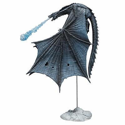 McFarlane Toys Game of Thrones Viserion Ice Dragon Deluxe Box Blue