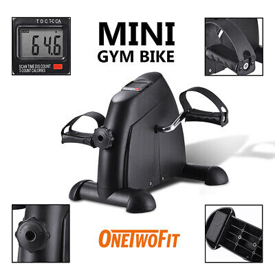 Under Table Mini Exercise Bike Cycling with LCD Display for Seniors Rehab OT068