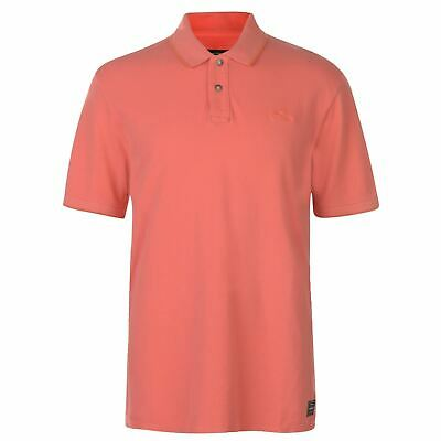 ONeill Sunny Pique Polo Shirt Mens Deep Sea Coral Collared Top Tee X-Large