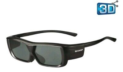 Genuine Sharp 3D Active Glasses AN-3DG20-B for LX/LV/X LCD/LED TV Rechargeable