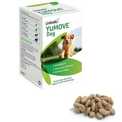 Lintbells YOUMOVE Dog Mobility Health Supplement Aid For Stiff Old Dogs 120 Tabs