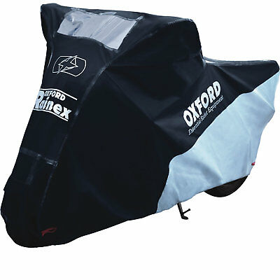 Oxford Rainex Outdoor Motorcycle Cover X-Large Motorbike Rain Dust Protection