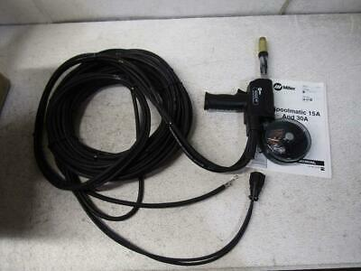 "Miller Electric 130831 - 1/16"" Wire - 30Ft Cable - 30A - Spool Welding Gun"