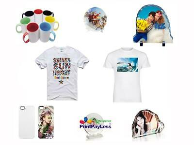 DYE SUBLIMATION INK heat Transfer Paper pk 100 Sheets  8 5