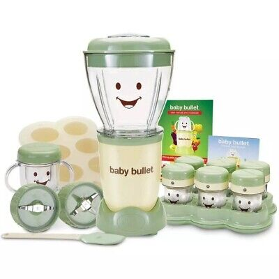 Magic Bullet Baby Bullet Complete Food Blender Processor System - Green