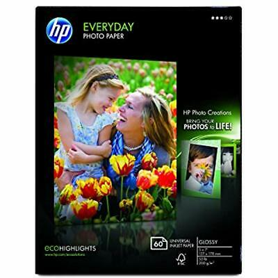 Photo Paper, Everyday Glossy, (5x7 Inch), 60 Sheets Quality Office Products